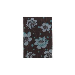 Koberec Hongkong Brown Blue, 60x120 cm