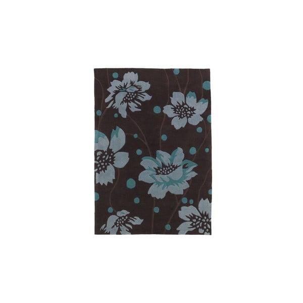 Koberec Hongkong Brown Blue, 120x170 cm