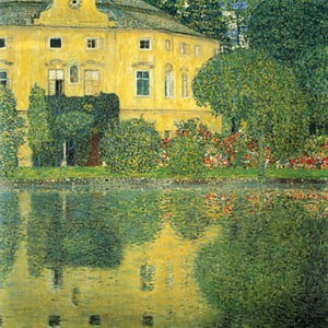 Reproducere tablou Gustav Klimt - Castle at the Lake, 60 x 60 cm