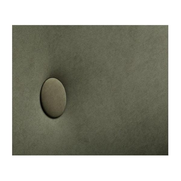 Olivově zelená rohová trojmístná pohovka Scandi by Stella Cadente Maison, pravý roh