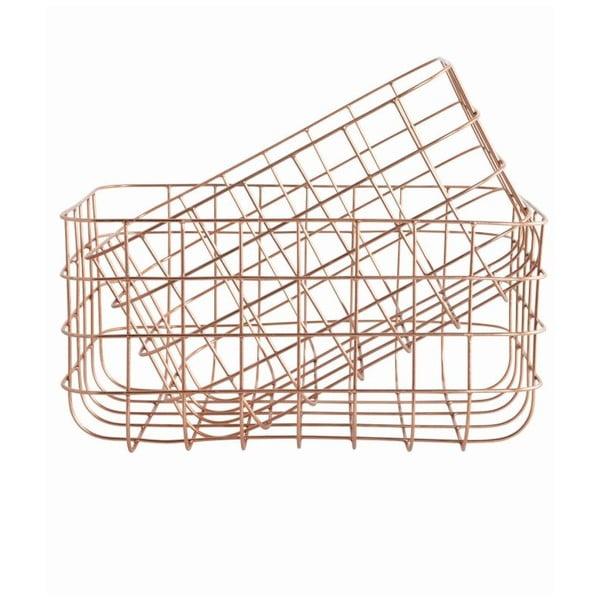 Sada 2 košíků Simply Copper M