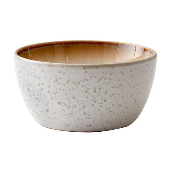 Krémová kameninová servírovací mísa Bitz Basics Cream, ⌀ 14 cm