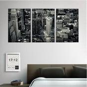 3dílný obraz New York Streets, 45x90 cm