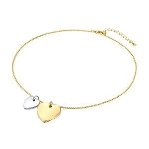 Dámský náhrdelník ve zlaté barvě Runway Heart