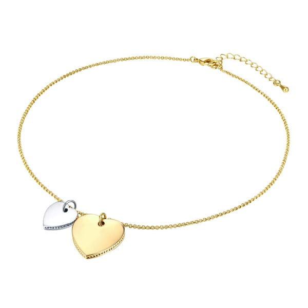 Naszyjnik damski w kolorze złota Runaway Heart