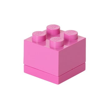 Cutie depozitare LEGO® Mini Box II, roz imagine