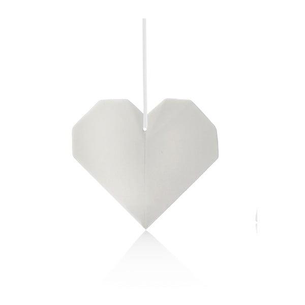 Dekorativní porcelánové Origami Heart