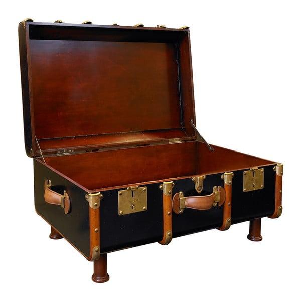Kávový stolek ve tvaru kufru Stateroom