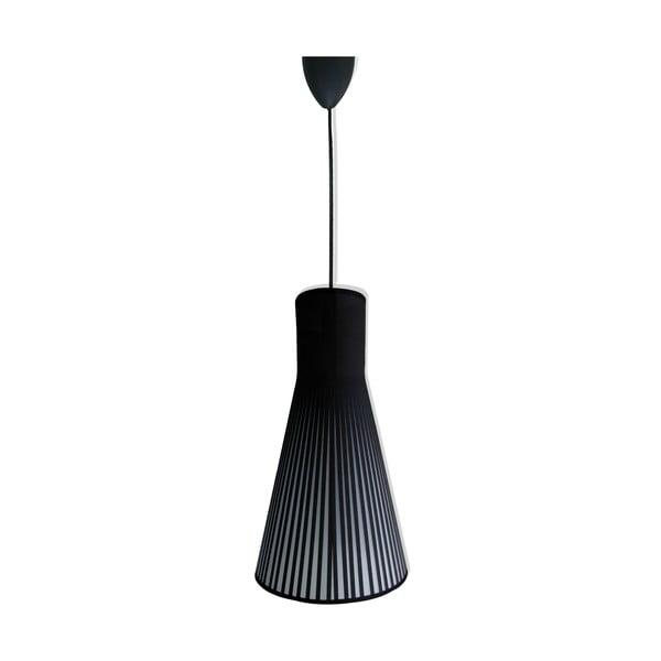 Závěsné světlo Black Fabric