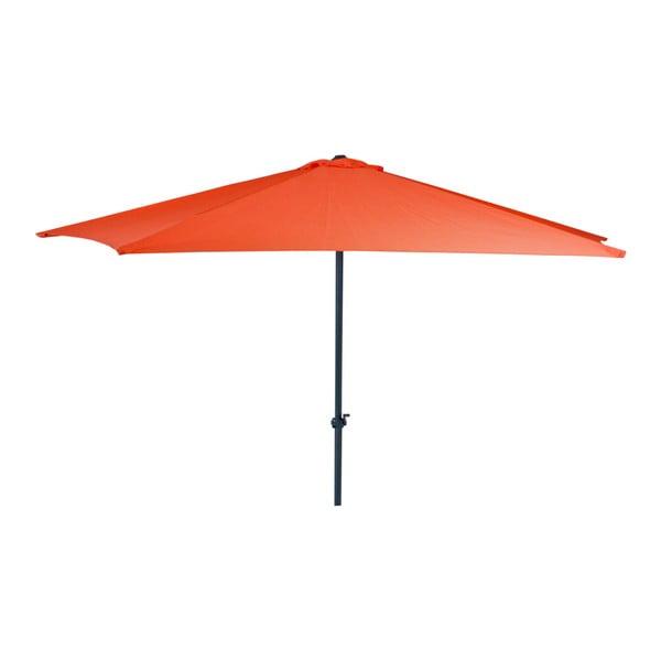 Červený zahradní slunečník ADDU Parasol, ⌀ 300 cm