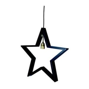 Závěsná svítící hvězda Best Season Hanging Black