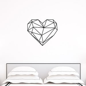 Autocolant Ambiance Origami heart
