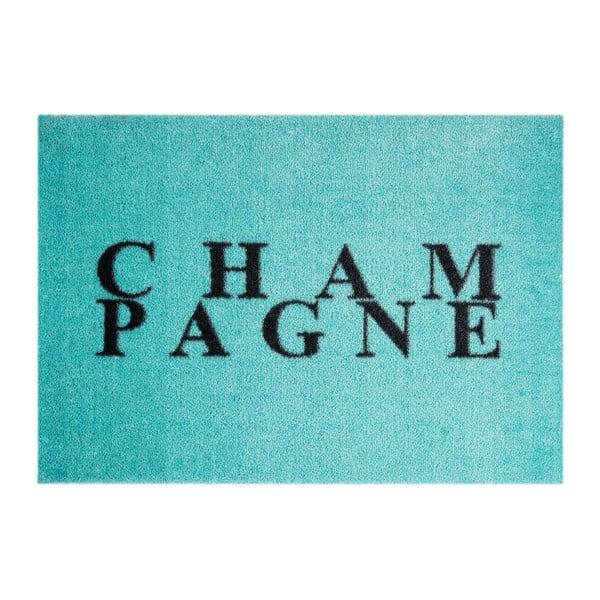 Modrá rohožka Mint Rugs StateMat Champagne, 50 x 75 cm