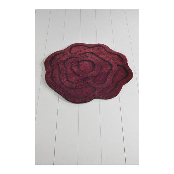 Covor de baie Big Rose Kirmizi, ⌀ 90 cm, mov