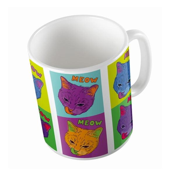 Keramický hrnek Butter Kings Warhol Cats, 330 ml