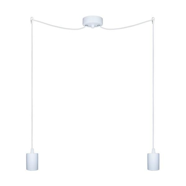 Dva závěsné kabely Cero, bílý/bílý