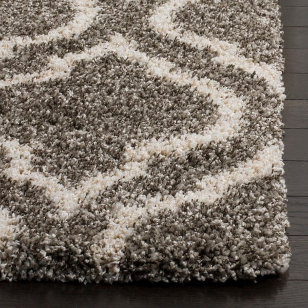 Šedohnědý koberec Safavieh Mati, 182 x 121cm