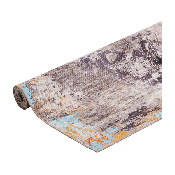 Covor Floorita Painting Grey, 80 x 150 cm