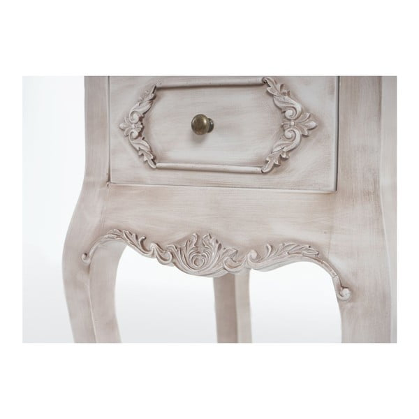 Noční stolek Baroque Antique White