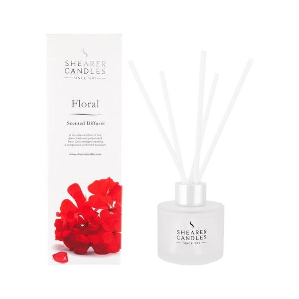Difuzér Shearer Candle 100 ml, květinová vůně