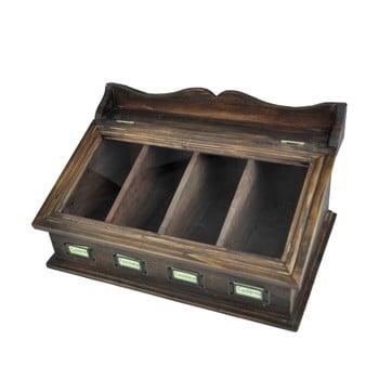 Suport lemn pentru tacâmuri Antic Line Couverts imagine