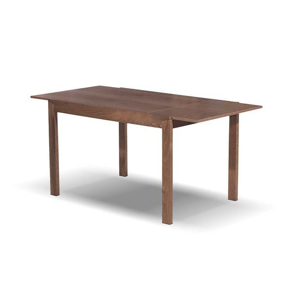Rozkládací jídelní stůl Ghost, 120-164 cm, tmavý