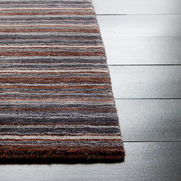 Vlněný koberec Horizon Midnight, 170x240 cm