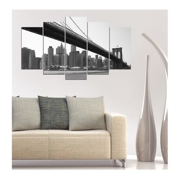 Vícedílný obraz 3D Art Tanta, 102x60cm