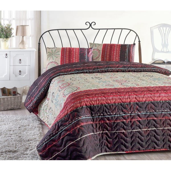 Aries könnyű steppelt ágytakaró párnahuzattal, 200 x 220 cm