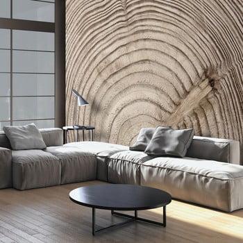 Tapet format mare Bimago Wood Grainl, 400 x 280 cm de la Bimago