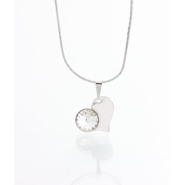 Náhrdelník se Swarovski krystaly Yasmine Pure Heart