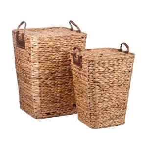 Sada 2 košíků J-Line Hyacinth