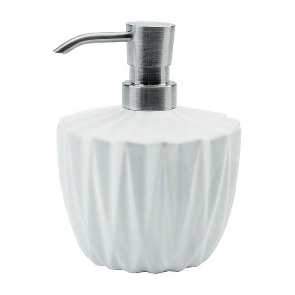 Zásobník na mýdlo Origami, bílý