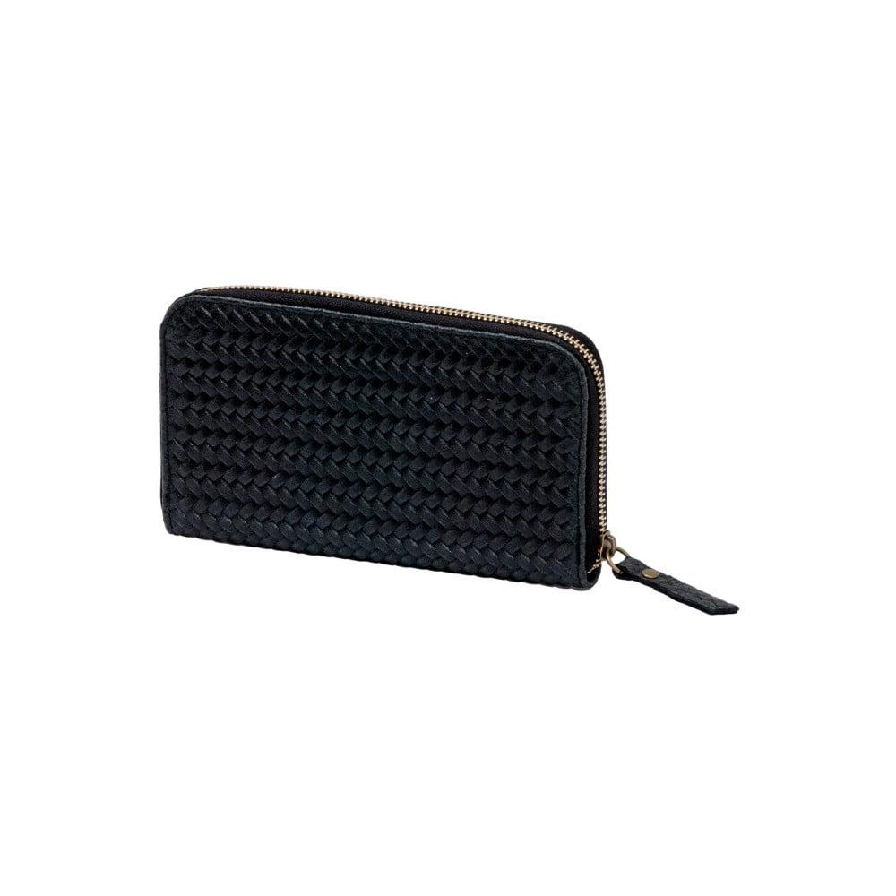 Černá peněženka z pravé kůže Andrea Cardone Cahlia 36076b593b
