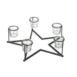 Svícen pro 5 svíček Parlane Star