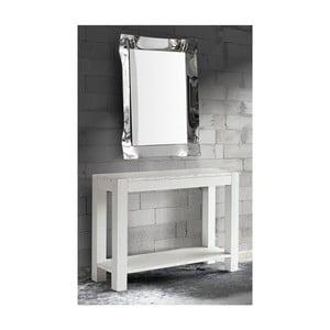 Masă hol din lemn de brad, Castagnetti Fir, alb