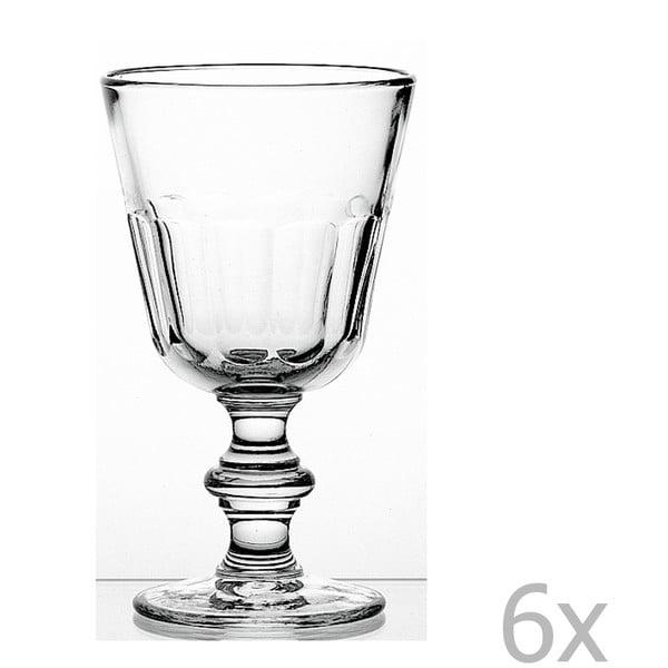 Set 6 pahare cu picior Périgord, 390 ml