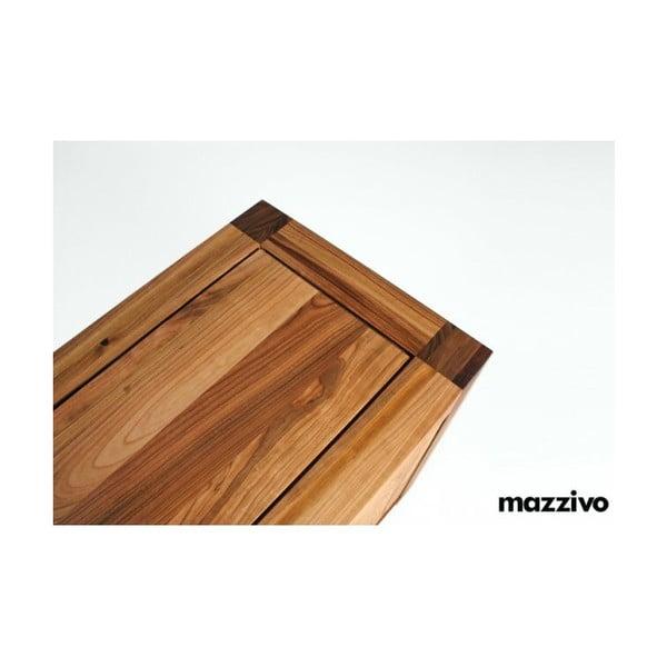 Komoda Mazzivo z olšového dřeva, model 4.2, bezbarvý vosk