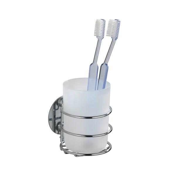 Suport pentru periuțe de dinți autoadeziv Wenko Turbo-Loc, până la 40 kg