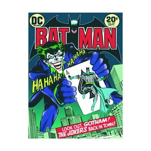 Obraz Pyramid International Batman The Joker Is Back In Town, 60 x 80 cm
