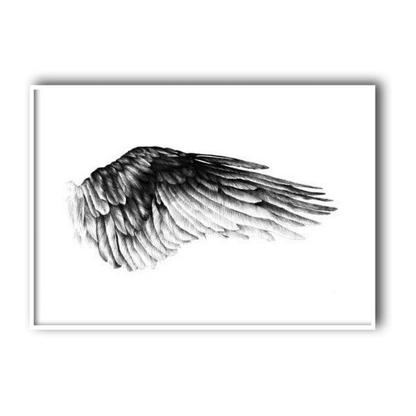 Autorský plakát Wing, 30x40 cm