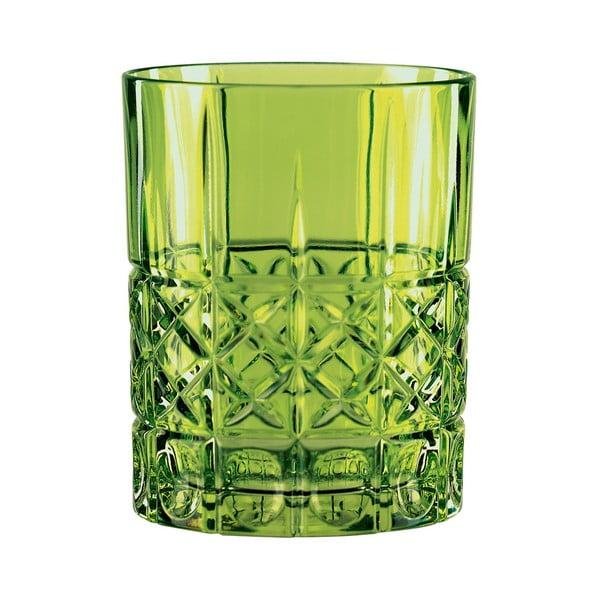 Zelená sklenice na whisky z křišťálového skla Nachtmann Highland Reseda, 345ml