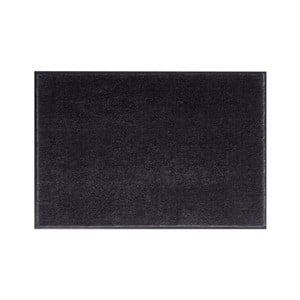 Černá rohožka Hanse Home Soft and Clean, 58 x 90 cm