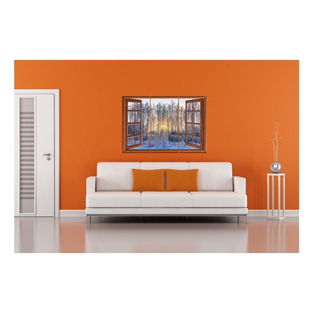 3 d ln obraz winter window 20 x 40 cm bonami for 20 40 window