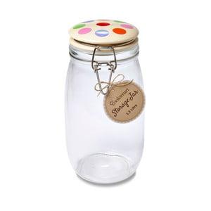 Borcan din sticlă Cooksmart Spots, 1,5 l