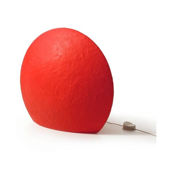Lampa Eggo 55 cm, červená