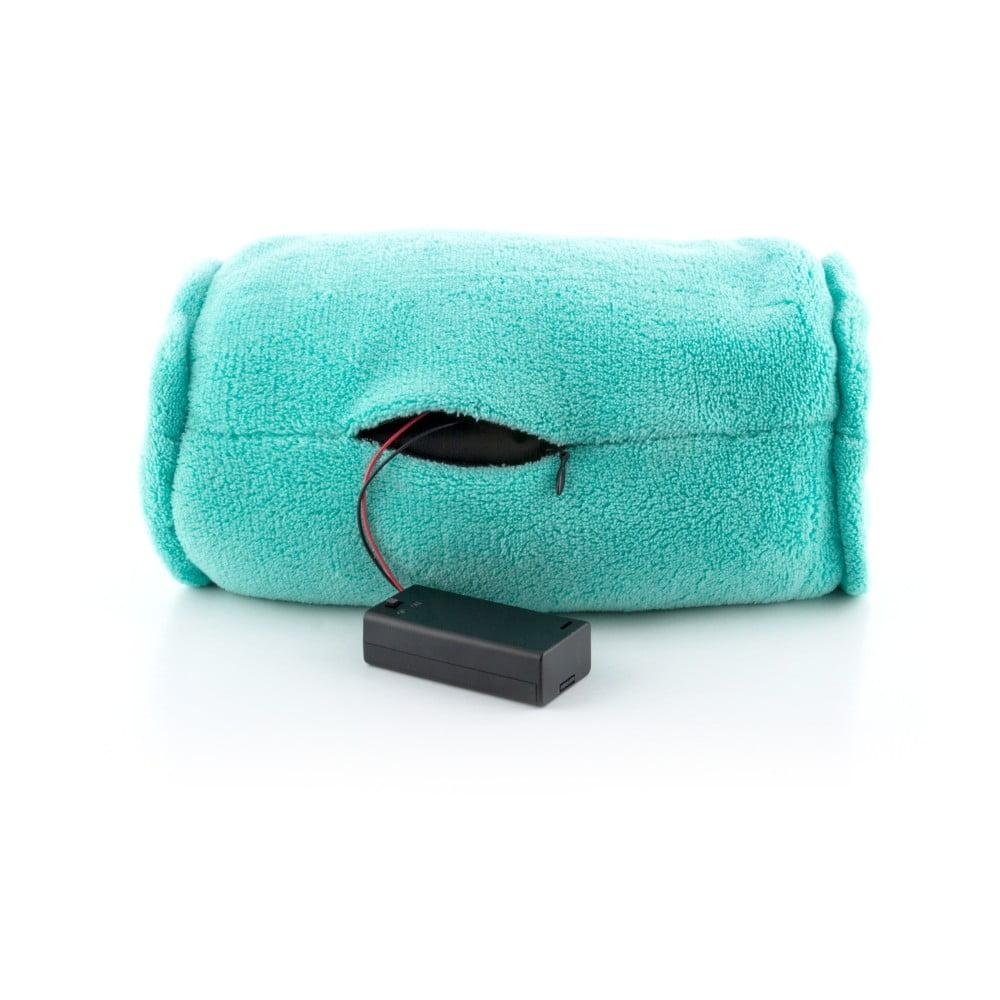Tyrkysový válcový masážní polštář InnovaGoods