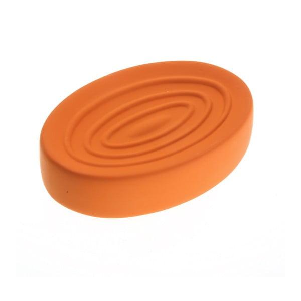 Oranžová nádoba na mydlo Versa Clargo