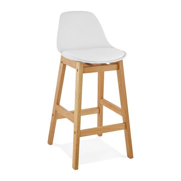 Bílá barová židle Kokoon Elody, výška86,5cm