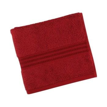 Prosop din bumbac Sunny 30 x 50 cm roșu